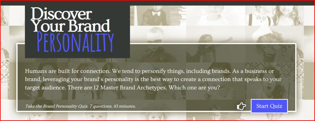 Brand Personality Quiz
