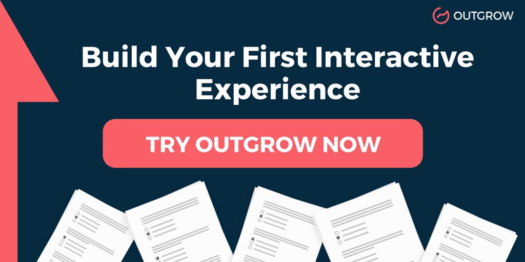 Interactive Experience builder Outgrow