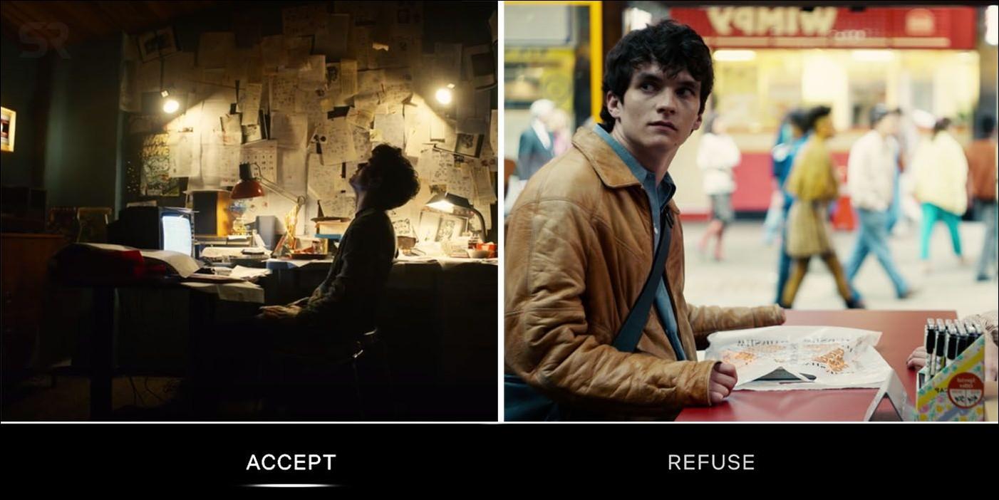 Netflix Interactive Content Example