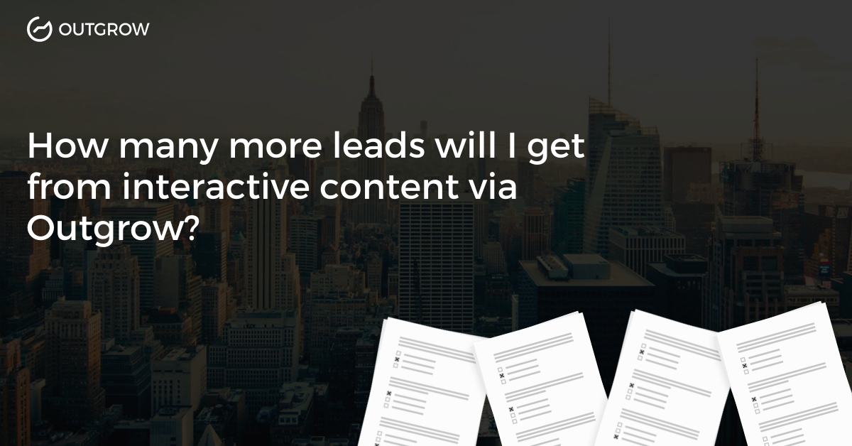 21 Ways You Can Use Outgrow Interactive Content