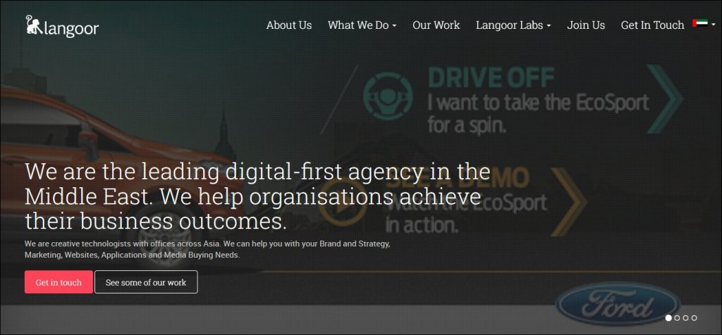 content marketing agencies in the middle east #10: Langoor