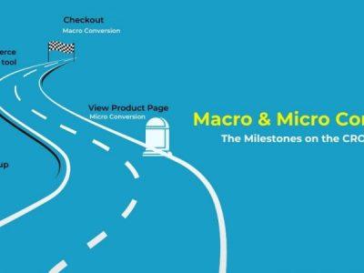 Macro and Micro Conversion- The Milestones on the CRO Roadmap