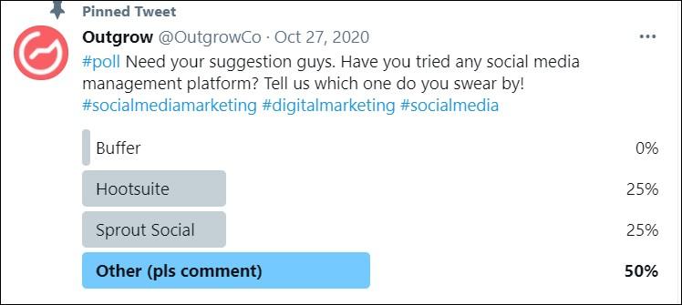 Outgrow social media hacks