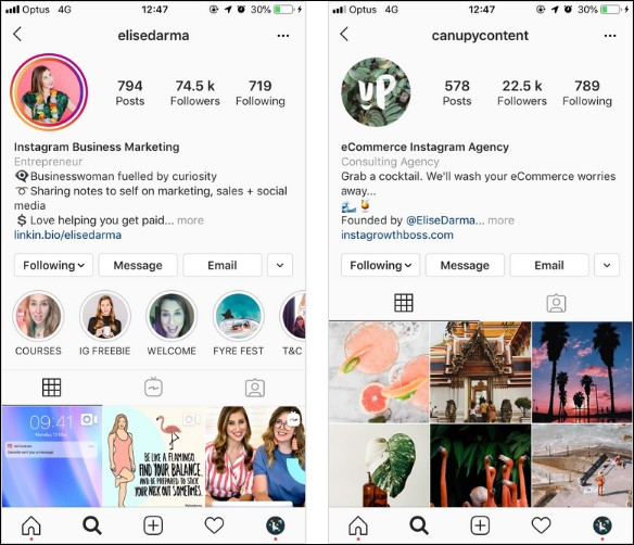Instagram growth hack