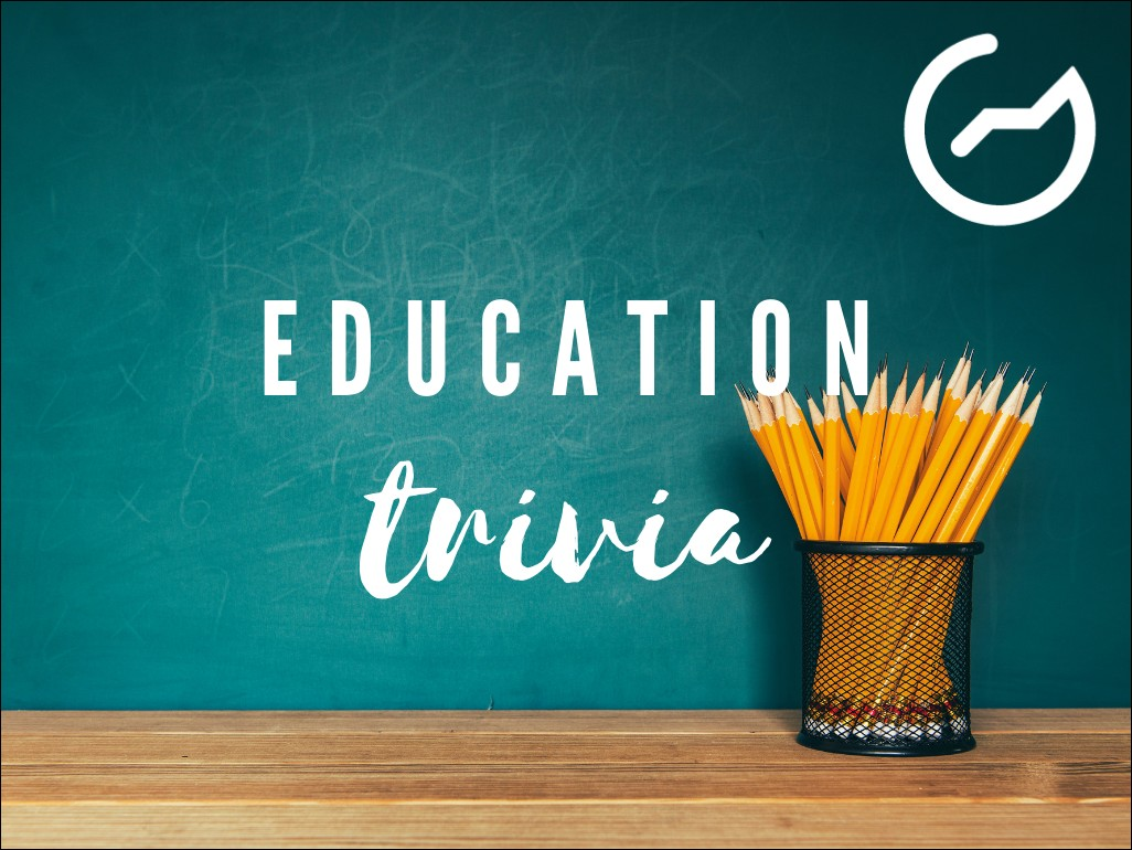 list of education trivia questions