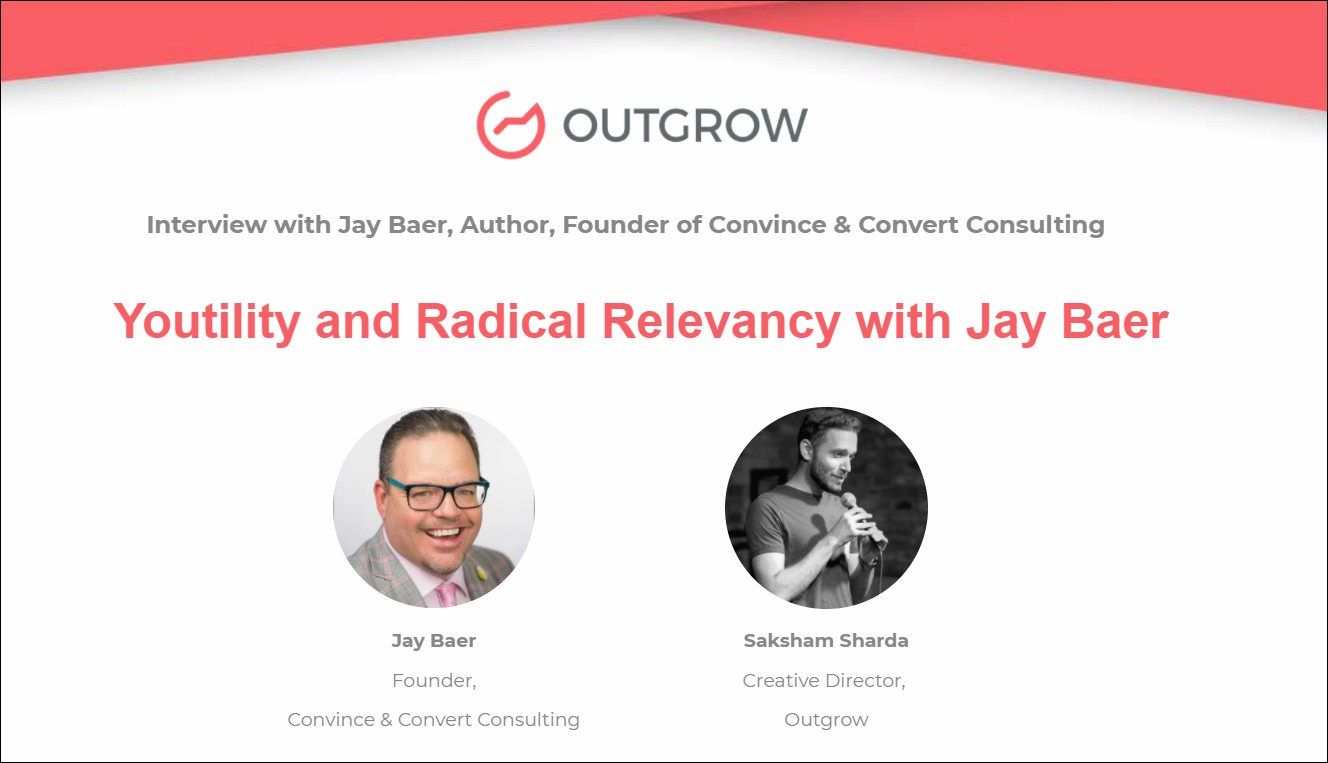 Marketer of the month - Jay Baer