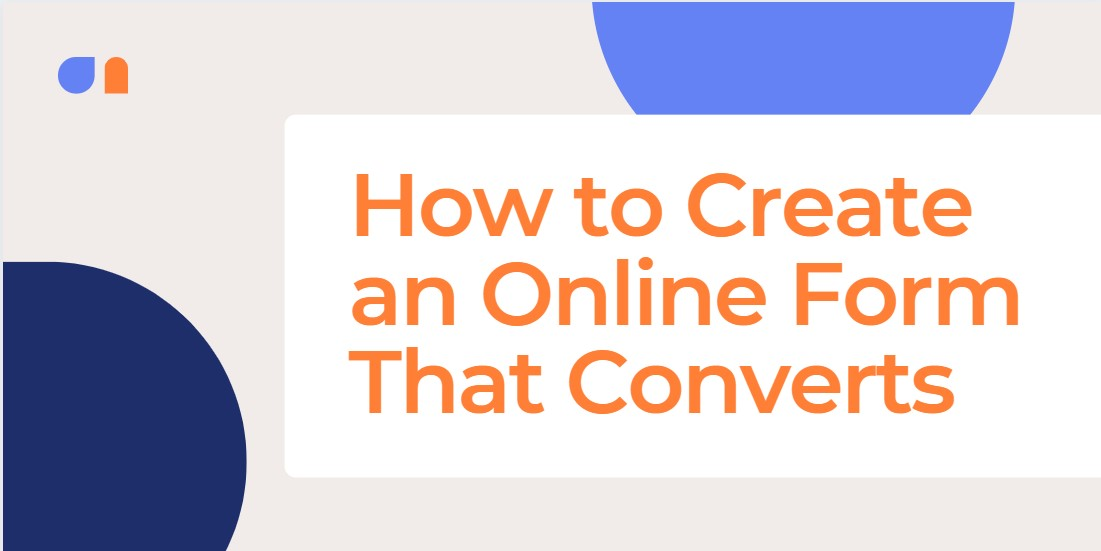 How to create an online form